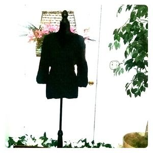 Venezia black tunic size 18/20